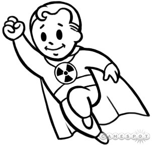 Fallout Coloring Pages