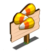 Candy Corn Mastery Sign-icon