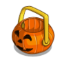 Halloween Basket-icon