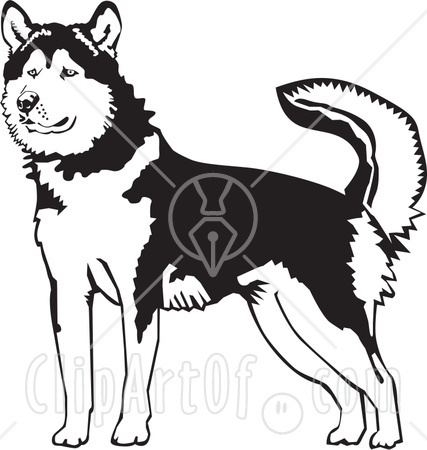 Dog+black+and+white+clip+art