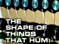 The Shape of Things That Hum duran duran