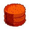 Orange Round Hay-icon