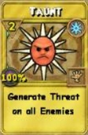 Taunt Treasure Card