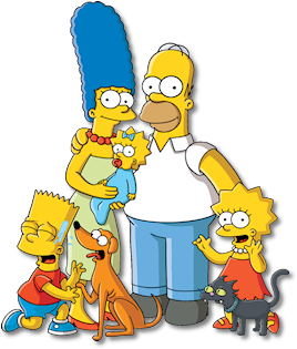families in The Simpsons