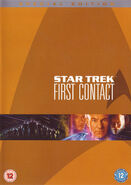 Star Trek First Contact Special Edition DVD cover (Region 2)