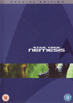 Star Trek Nemesis Special Edition DVD cover-Region 2
