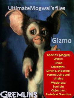 Ultimatemogwai's files gremlins gizmo