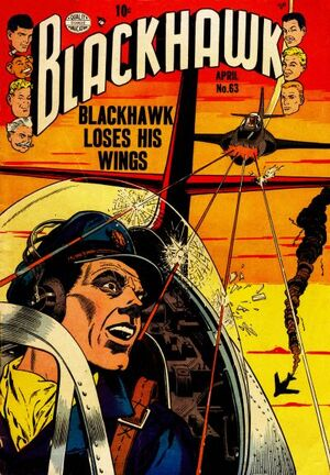 Cover for Blackhawk #63