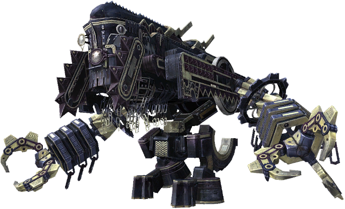 FFXIII enemy Juggernaut