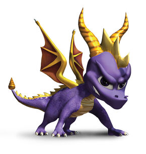 Spyro attack