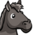 Gray Horse Mugshot-icon