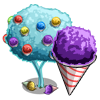 Snow Cone Tree-icon