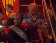 Worf and Quark, 2372