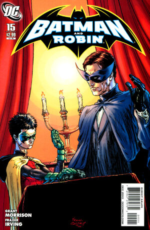 Cover for Batman and Robin #15