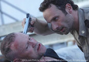 Merle Dixon threatened