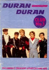 Duran Duran fan club no.1