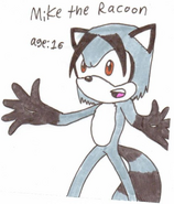 Mike the Raccoon