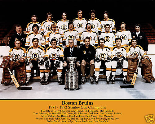 Boston Bruins Stanley Cup 1970 1972 Stanley Cup Final...