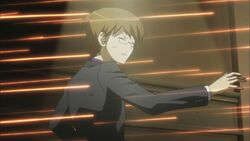 Keima gets shot