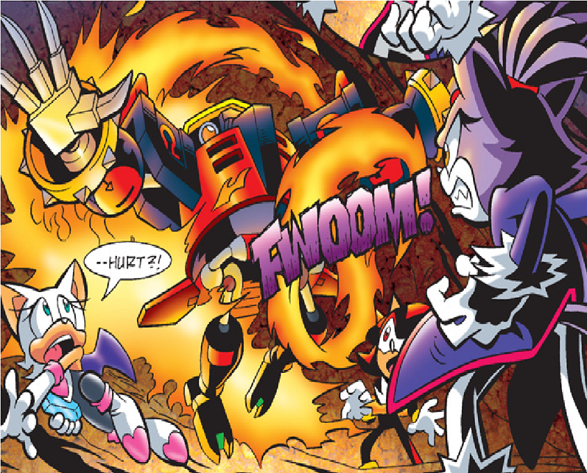 Archie Sonic Universe Issue 22 - Mobius Encyclopaedia - Sonic the ...