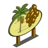 Peach Palm Tree Mastery Sign-icon