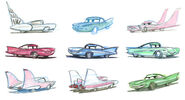 Cars concept art 1