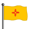 New Mexico Flag-icon