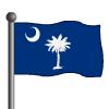 South Carolina Flag-icon