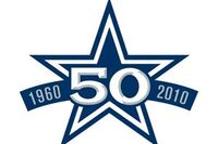 Dallas Cowboys 50th Anniversary Logo