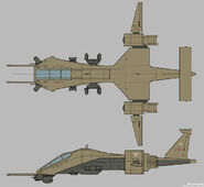 CNCTW Dropship Concept Art 1