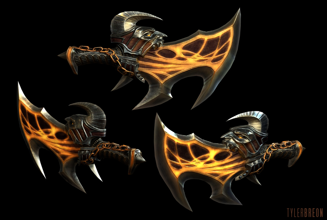 God Of War 3 Blades Of Exile Image - Blades of exil...