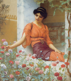 Godward Summer Flowers 1903