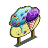 Snow Cone Tree Mastery Sign-icon