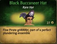 BlackBuccaneerHat