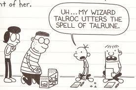Magick And Monsters Diary Of A Wimpy Kid