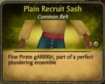 Recruit Sash