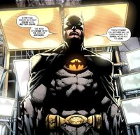 Batman gets a redesigned costume after starting Batman Incorporated