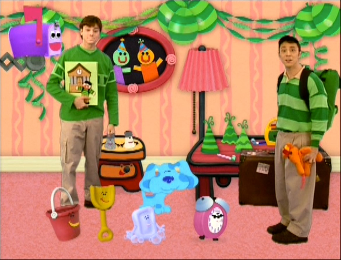 Steve Goes to College - Blue's Clues Wiki