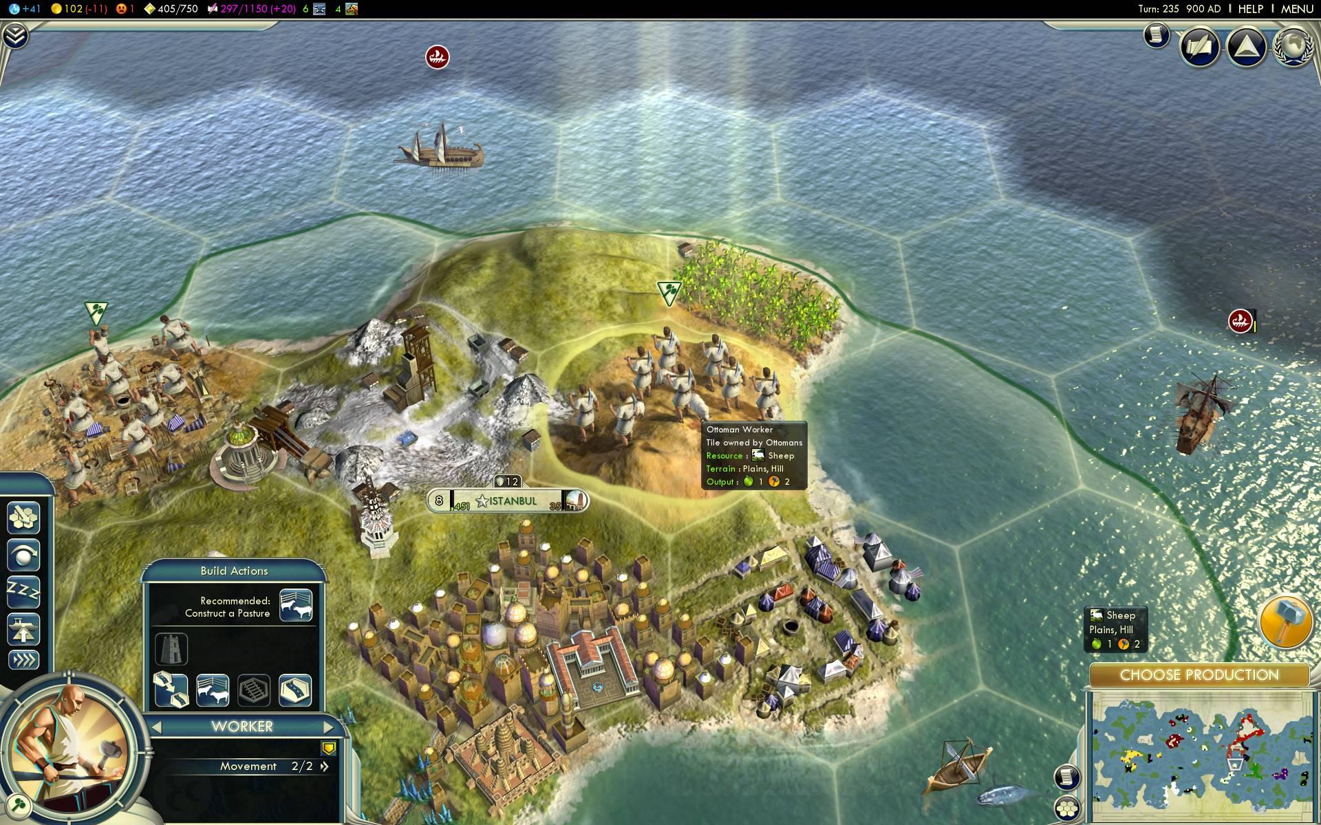 Civ  Build City On Luxury Resource