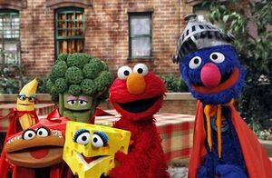 Super grover healthy habits