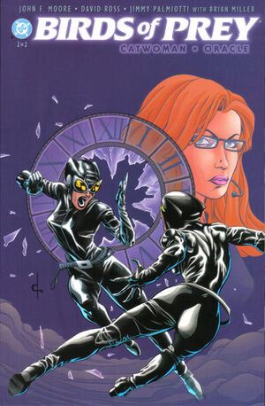 Cover for Birds of Prey: Catwoman/Oracle #1