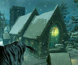 Godric's Hollow church