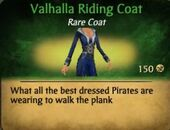 Valhalla Riding Coat
