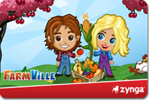 FarmVille E-Game Cards