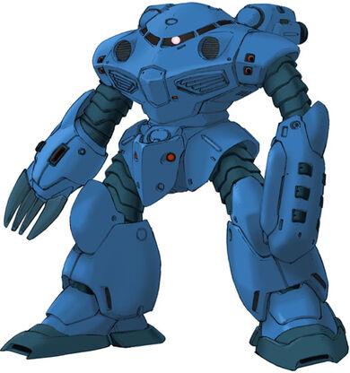 พบเห็นเหล่า กองร้อยกบ ในการ์ตูนเรื่อง Gundam  390px-Msm-07f