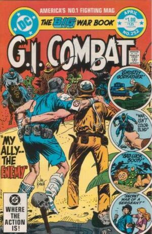 Cover for G.I. Combat #252