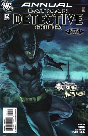 Cover for Detective Comics Annual #12