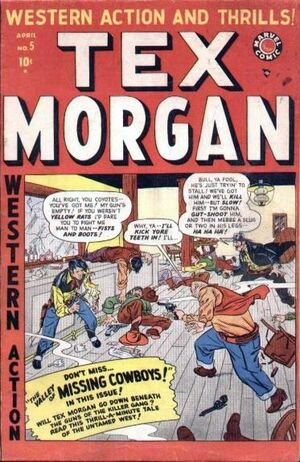 Tex Morgan Vol 1 5