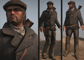 RDR unlocksSavvyMerchantOutfit
