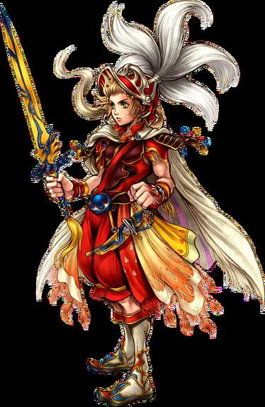 Imformacion del Caballero Cebolla de Final Fantasy III